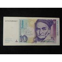 ФРГ 10 марок 1991г.