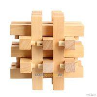 Деревянная головоломка для развития интелекта