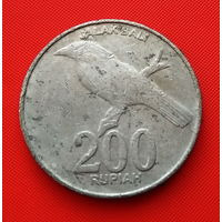 22-29 Индонезия, 200 рупий 2003 г.