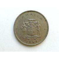 10 центов 1969 года. Ямайка. Монета А3-6-6