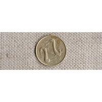 Кипр 2 цента 1993/фауна//(NS)