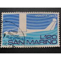 Сан-Марино 1974 авиапочта, авиаспорт