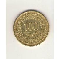 100 миллимов 1997 Тунис. Возможен обмен