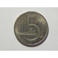 Чехословакия 5 крон 1938г