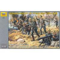 Немецкая пехота 1914 - 1918 годы, Звезда 1/72
