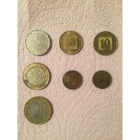 Коллекция монет израиль,турция, морокко