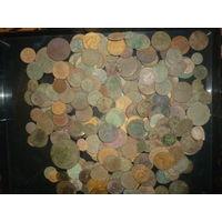 Монеты копанные 252 шт