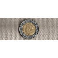 Эквадор 1000 сукре 1996/биметалл(Li)