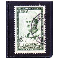 Марокко. Mi:MA 412. Король Мохаммед V. 1956.