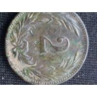 2 с короной венгрии 1895 г