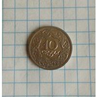 Польша 10 грош 1923г.