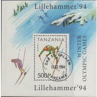 Танзания/1994/Лиллехаммер-94/Олимпийские игры/Спорт/СТО/Блок/