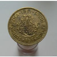1/2 цента 1961 ЮАР (Южная Африка)