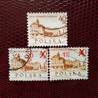 Марки Польша 1965 год. 700 лет Варшавы