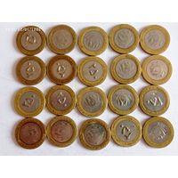 Монеты Иран  с рубля.