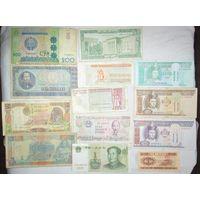 Сборный лот банкнот мира. Распродажа