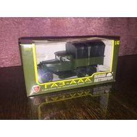 Модель ГАЗ-ААА Наш Автопром ( тент черный)