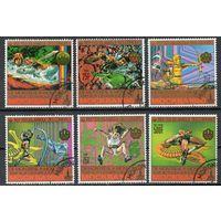Олимпийские игры в Москве Коморы 1979 год серия из 6 марок