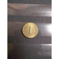 1989 Австрия 1 шилинг