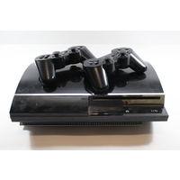 Приставка Sony PlayStation 3 40Gb CECHH08+3 геймпада