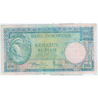 Индонезия 100 рупий 1957 г. P51.