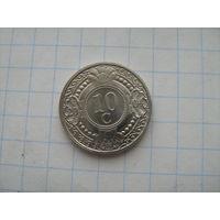 Антильские острова 10 центов 2004г.