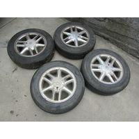 Литые диски 7700438286, R15, ET43, 4*100, LYNX для Dacia,Nissan,Renault