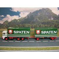 Модель грузового автомобиля MAN (5). Масштаб НО-1:87.