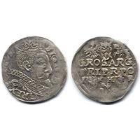 Трояк 1598, Сигизмунд III Ваза, Познань, R1