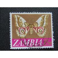 Замбия 1976 г. Бабочки.