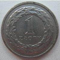 Польша 1 злотый 1991 г.