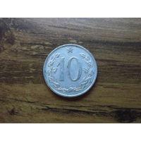 Чехословакия 10 геллеров 1969