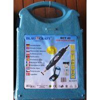 Гравер (минишлифмашинка) Blaukraft BCT 40 + набор принадлежностей