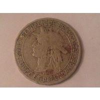 Гваделупа 1 франк 1903г