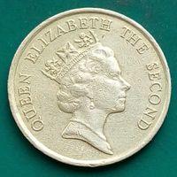10 центов 1987 ГОНКОНГ