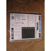 Листы прокладочные OPTIMA zwl , упаковка (10шт.), черные, новые.