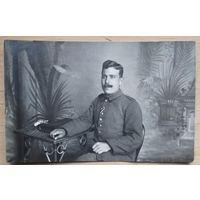 Фото немецкого военного. 1-я Мировая война. 10х15 см.