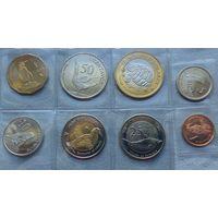 Галапагосские острова 2008, 8 монет