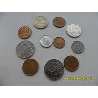 Набор монет лот 34 /цена за все/