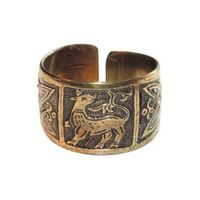 Перстень с изображением Семаргла