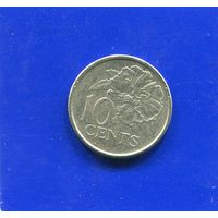 Тринидад и Тобаго 10 центов 2001