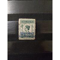 1921 Голландская колония Ост-Индия королева фауна (4-7)