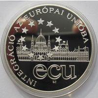 Венгрия, 1000 форинтов, 1995, серебро, пруф