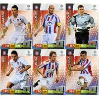 Коллекция PANINI Лига Чемпионов УЕФА 2011-2012. Adrenalyn XL // Otelul // Iorga