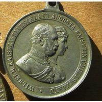 Медаль.Германия..Война 1914-18 года.(17)