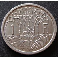 Реюньон. 1 франк 1964 год  KM#6