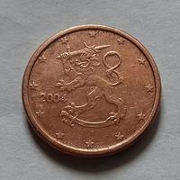 1 евроцент, Финляндия 2004 г.
