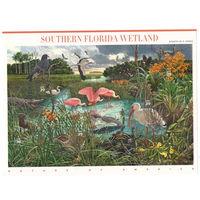США Юго-западная Флорида 2006 год чистый полный лист из 10-ти марок