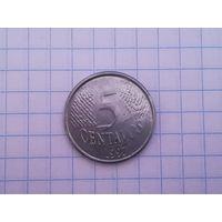 БРАЗИЛИЯ  5  1997  ВОЗМ. ОБМЕН