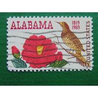 США 1969г. Фауна. Птицы.